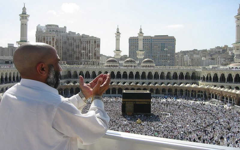 And complete the Hajj and 'umrah for Allah